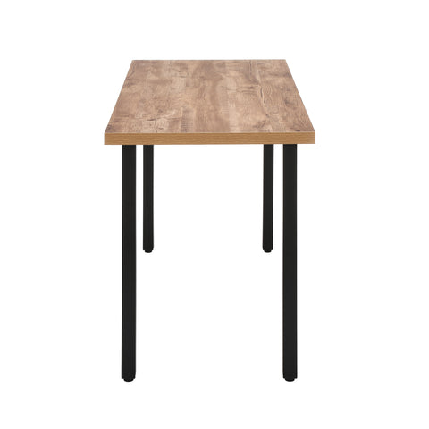 "OFM Essentials Collection 48"" Table Desk, Knotty Oak Woodgrain (ESS-1051-BLK-KOA) ; UPC: 192767000147 ; Image 5"