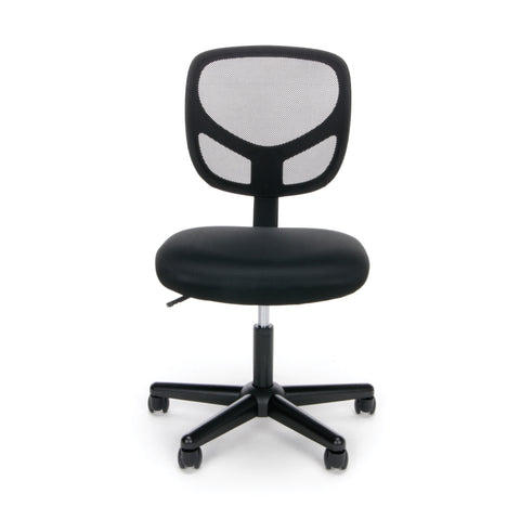 OFM Essentials Collection Mesh Back Office Chair, Armless, in Black (ESS-3000) ; UPC: 089191013310 ; Image 2
