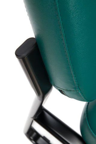OFM Model 405-VAM Armless Guest and Reception Chair, Anti-Microbial/Anti-Bacterial Vinyl, Teal ; UPC: 811588014323 ; Image 7