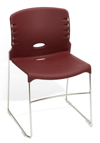 OFM 320-P17 Stack Chair with Plastic Seat and Back ; UPC: 811588014194 ; Image 1