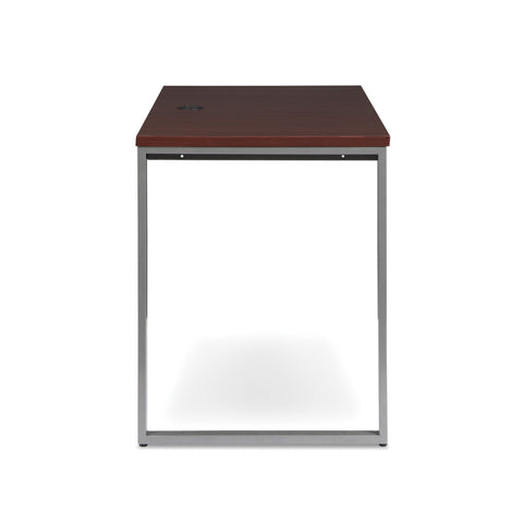 OFM Fulcrum Series 48x24 Return Desk, Office Desk Return, Mahogany (CL-R4824-MHG) ; UPC: 845123097373 ; Image 4