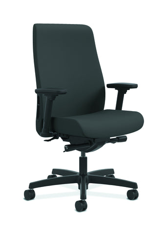 HON Endorse Mid-Back Task Chair with Lumbar Support, in Iron Ore (HLWU) ; UPC: 889218155166 ; Image 1