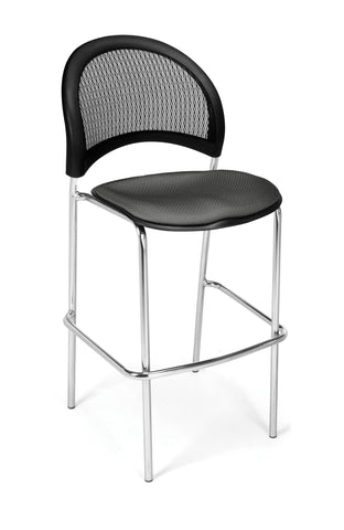 OFM 338C-2213 Moon Cafe Height Chair, Slate Gray ; UPC: 845123005279 ; Image 1
