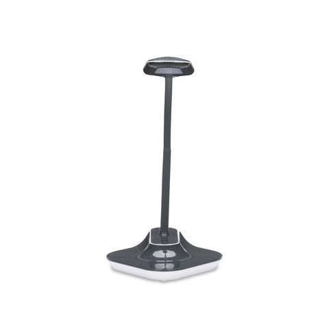 OFM ESS-9001-GRY Essentials LED Desk Lamp with Removable Base and Integrated Desk Clamp, Gray ; UPC: 192767000475 ; Image 2
