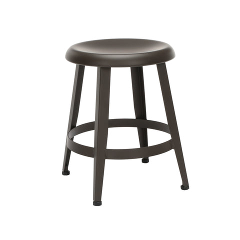 "OFM Core Collection Edge Series 18"" Table Height Metal Stool, in Antique Brown (33918M-ABRN) ; UPC: 192767002424 ; Image 1"