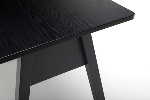 "OFM Essentials Collection 48"" Table Desk, Black Woodgrain (ESS-1050-BLK-BLK) ; UPC: 192767000123 ; Image 9"