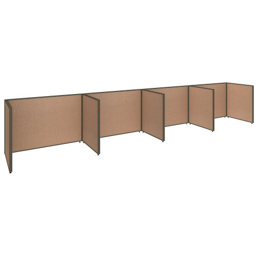 Bush ProPanel 4 Person Open Cubicle Office, Harvest Tan PPC015HT ; UPC: 042976041434 ; Image 1