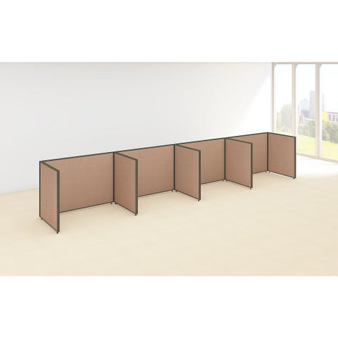 Bush ProPanel 4 Person Open Cubicle Office, Harvest Tan PPC015HT ; UPC: 042976041434 ; Image 2