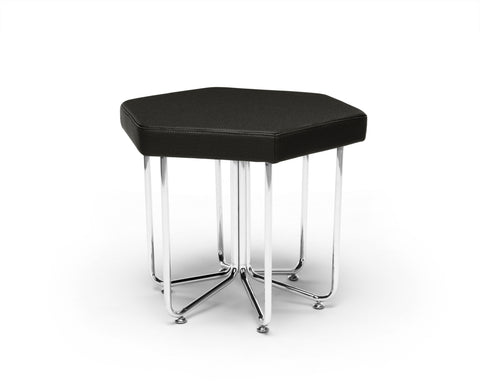 OFM 66-MDN Hex Series Stool with Chrome Frame ; UPC: 845123080047 ; Image 1