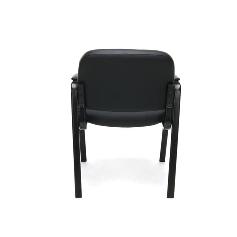 Essentials by OFM ESS-9010 Bonded Leather Executive Side Chair, Black ; UPC: 845123089408 ; Image 3
