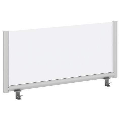 Bush Business Furniture 42W Desk Top Privacy Screen, Frosted ; UPC:042976090234 ; Image 1
