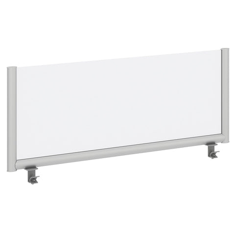 Bush Business Furniture 48W Desk Top Privacy Screen, Frosted ; UPC:042976090241 ; Image 1