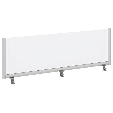 Bush Business Furniture 60W Desk Top Privacy Screen, Frosted ; UPC:042976090258 ; Image 1