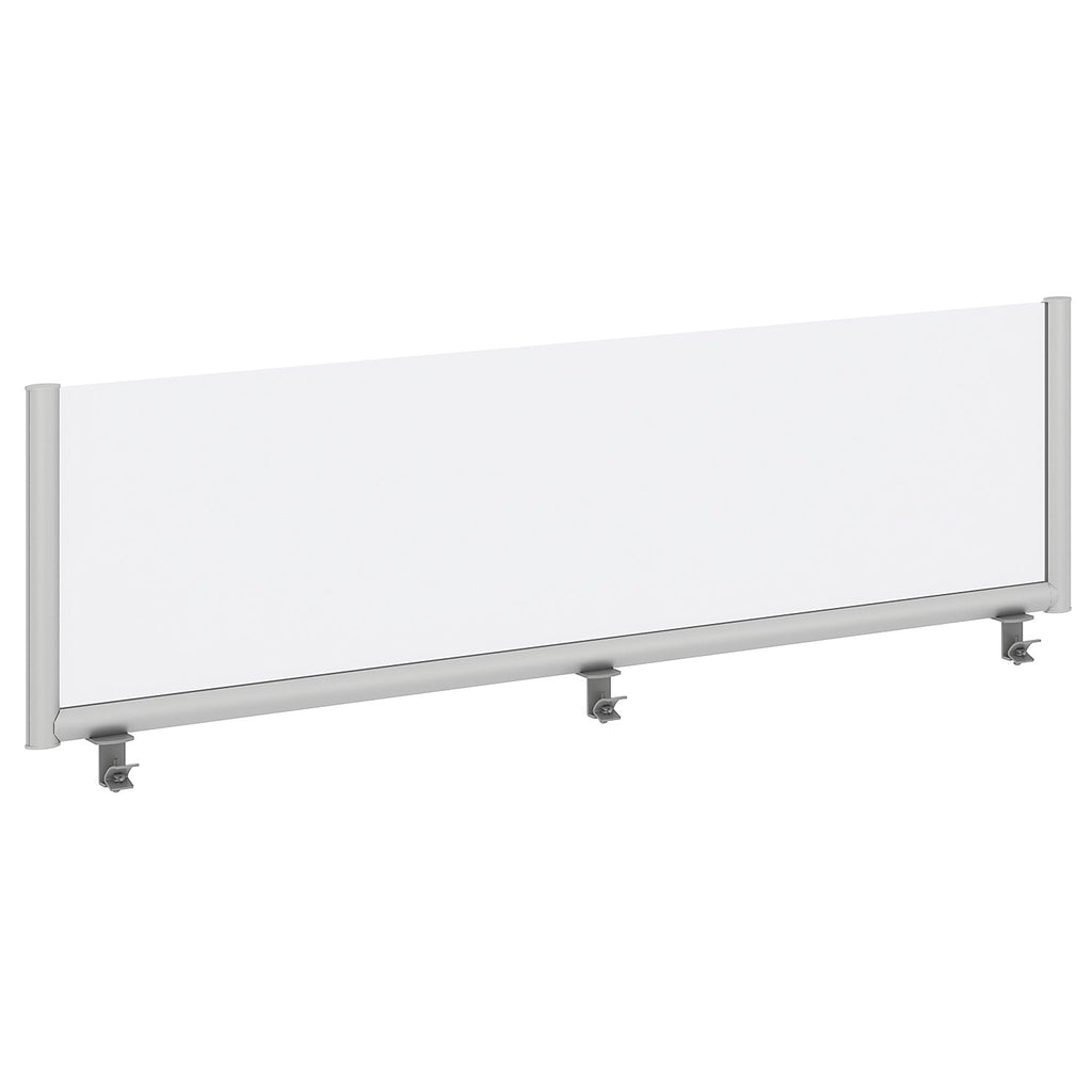 Bush Business Furniture 66W Desk Top Privacy Screen, Frosted ; UPC:042976090265 ; Image 1