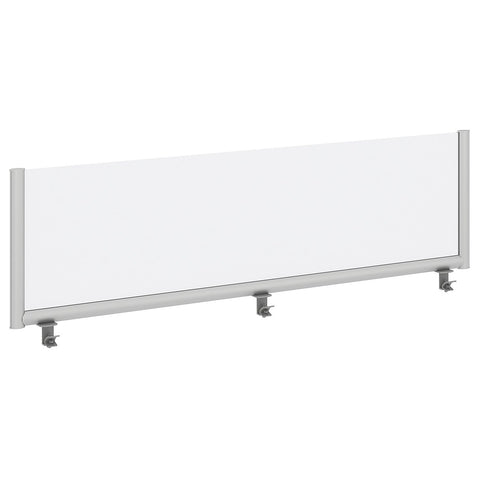 Bush Business Furniture 72W Desk Top Privacy Screen, Frosted ; UPC:042976090272 ; Image 1