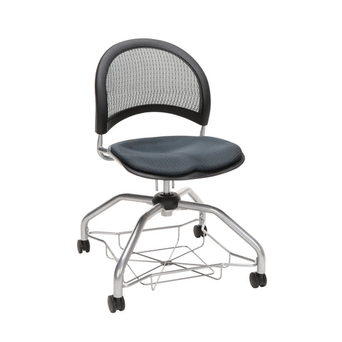 OFM Moon Foresee Series Chair with Removable Fabric Seat Cushion - Student Chair, Slate Gray (339) ; UPC: 845123094464 ; Image 1
