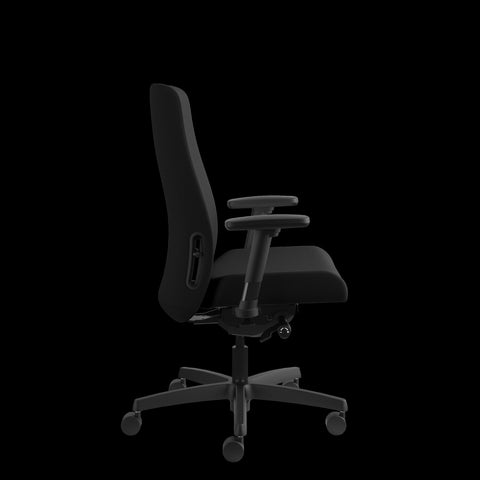 HON Endorse Mid-Back Task Chair with Lumbar Support, in Black (HLWU) ; UPC: 888531769357 ; Image 4