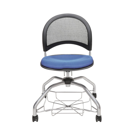 OFM Moon Foresee Series Chair with Removable Fabric Seat Cushion - Student Chair, Colonial Blue (339) ; UPC: 845123094389 ; Image 2