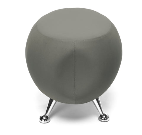 OFM Jupiter Series Fabric Ball Stool, in Gray (2001-2315) ; UPC: 845123053331 ; Image 5