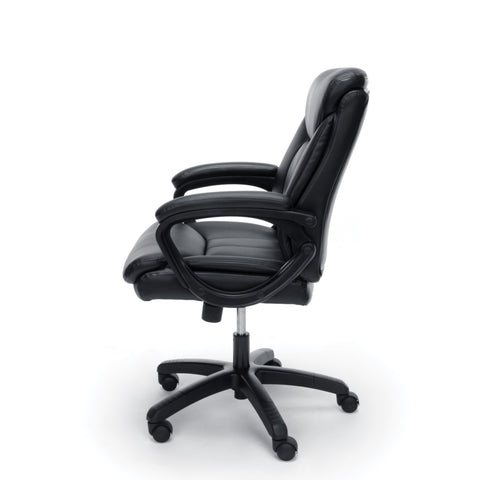Essentials by OFM ESS-6020 Executive Office Chair, Black with Black Frame ; UPC: 845123092828 ; Image 5