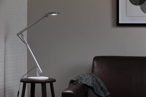 OFM 4020-WHT LED Desk Lamp with 3-in-1 Desk, Clamp, and Wall Mount, White ; UPC: 192767000819 ; Image 11