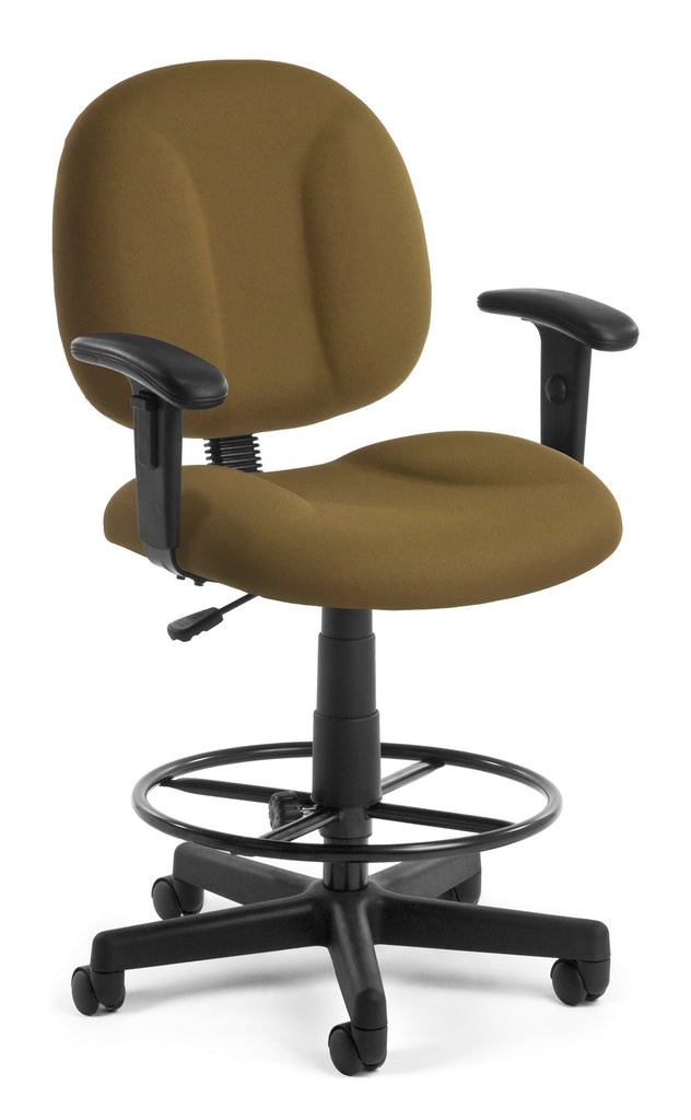 OFM 105-AA-DK-806 Comfort Series Superchair with Arms and Drafting Kit ; UPC: 845123011041 ; Image 1