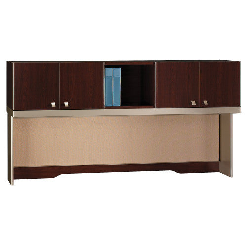 Bush Business Furniture Quantum Harvest Cherry 72W Hutch (Tall), QT1726CSK ; Image 1