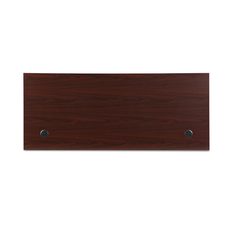 OFM Fulcrum Series 72x30 Desk, Minimalistic Modern Office Desk, Mahogany (CL-D7230-MHG) ; UPC: 845123097137 ; Image 8
