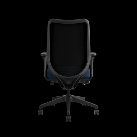 HON Nucleus Task Chair with Mesh Back, in Navy (HN1) ; UPC: 752856008142 ; Image 3
