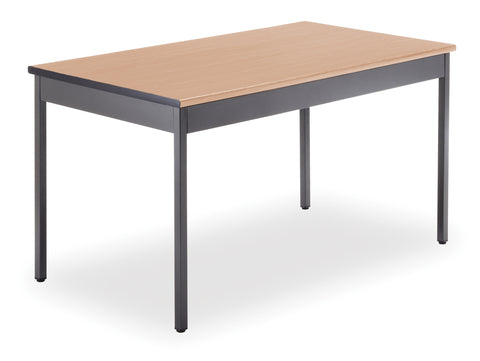"OFM Model UT3048 30"" x 48"" Multi-Purpose Utility Table, Maple ; UPC: 811588011735 ; Image 1"