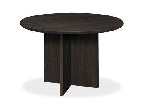 "HON BL Series Office Table, 48"" Round, Espresso (BSXBLC48D) ; UPC: 641128468787 ; Image 1"
