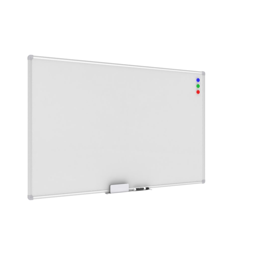 OFM Essentials Collection Magnetic Whiteboard with Aluminum Frame and Tray, 47 x 30 (ESS-8501) ; UPC: 192767001694 ; Image 1
