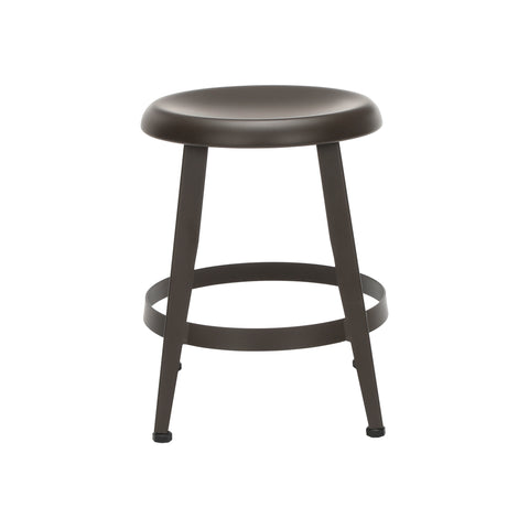 "OFM Core Collection Edge Series 18"" Table Height Metal Stool, in Antique Brown (33918M-ABRN) ; UPC: 192767002424 ; Image 2"