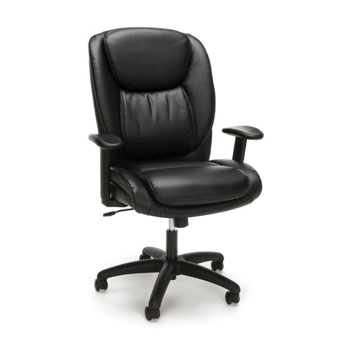 Essentials by OFM ESS-6032 High Back Executive Chair, Black ; UPC: 845123095331 ; Image 1