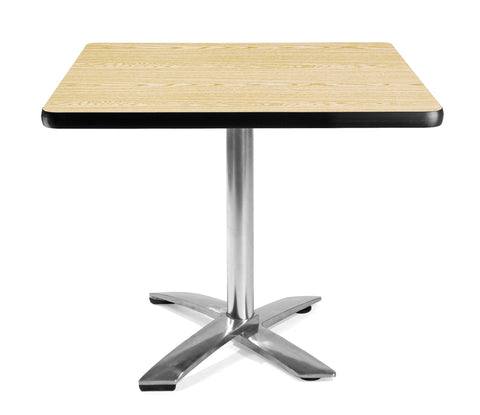 "OFM Model FT36SQ 36"" Square Flip-Top Multi-Purpose Table, Oak ; UPC: 811588010066 ; Image 1"
