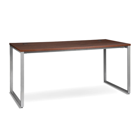 OFM Fulcrum Series 66x30 Desk, Minimalistic Modern Office Desk, Cherry (CL-D6630-CHY) ; UPC: 845123097182 ; Image 1