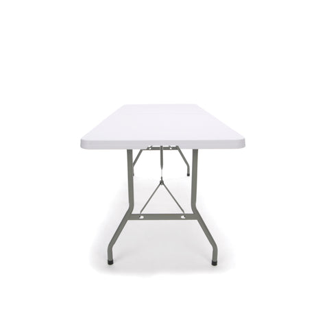 Essentials by OFM ESS-5072F 6' Blow Molded Center-Folding Utiity Table, White ; UPC: 845123089217 ; Image 5