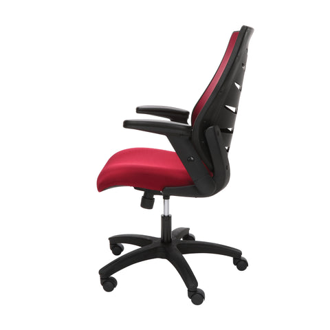 OFM Model 530-BURG Core Collection Midback Mesh Office Chair for Computer Desk, Burgundy ; UPC: 192767000345 ; Image 5