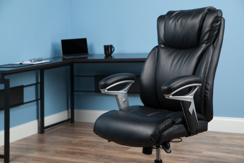 OFM Essentials Series Ergonomic Executive Bonded Leather Office Chair, in Black (ESS-6046-BLK) ; UPC: 192767000291 ; Image 12