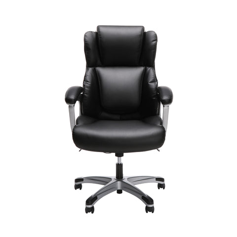 OFM Essentials Series Ergonomic Executive Bonded Leather Office Chair, in Black (ESS-6033-BLK) ; UPC: 192767000284 ; Image 2