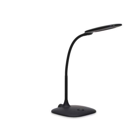 OFM ESS-9003-BLK Essentials LED Desk Lamp with Touch Control, Black ; UPC: 192767000543 ; Image 1
