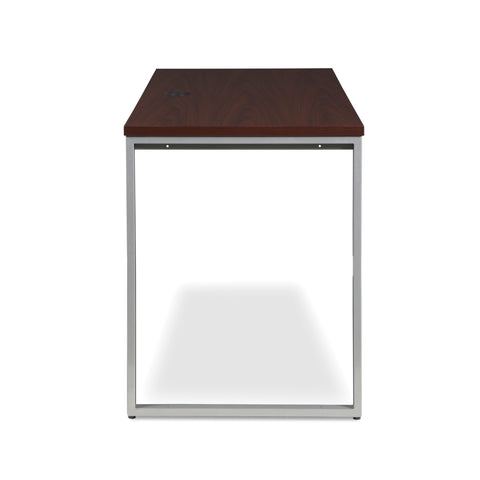 OFM Fulcrum Series 60x24 Credenza Desk, Desk Shell for Office, Mahogany (CL-C6024-MHG) ; UPC: 845123097335 ; Image 4