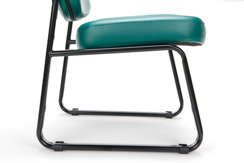OFM Model 405-VAM Armless Guest and Reception Chair, Anti-Microbial/Anti-Bacterial Vinyl, Teal ; UPC: 811588014323 ; Image 10