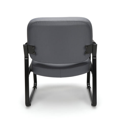 OFM Model 407 Fabric Big and Tall Guest and Reception Chair with Arms, Gray ; UPC: 845123028551 ; Image 3
