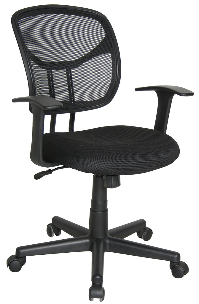 Essentials by OFM E1001 Computer and Task Chair, Black ; UPC: 845123025130 ; Image 1