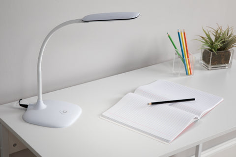 OFM ESS-9003-8PK-WHT Essentials LED Desk Lamp with Touch Control, White (Pack of 8) ; UPC: 192767000598 ; Image 12