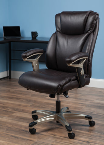 OFM Essentials Series Ergonomic Executive Bonded Leather Office Chair, in Brown (ESS-6046-BRN) ; UPC: 192767000307 ; Image 13