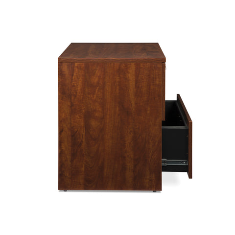 OFM Fulcrum Series Locking Lateral File Cabinet, 2-Drawer Filing Cabinet, Cherry (CL-L36W-CHY) ; UPC: 845123097588 ; Image 7