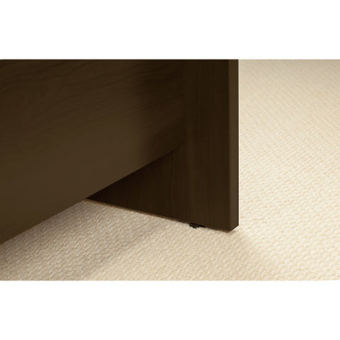 Bush Series C Elite 60W x 43D Left Hand Bowfront Desk Shell with 30W Return, Mocha Cherry SRE005MR ; UPC: 042976016494 ; Image 4
