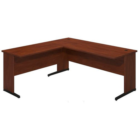 Bush Business Furniture Series C Elite 72W x 30D C Leg Desk with 42W Return in Hansen Cherry ; UPC:042976020965 ; Image 1